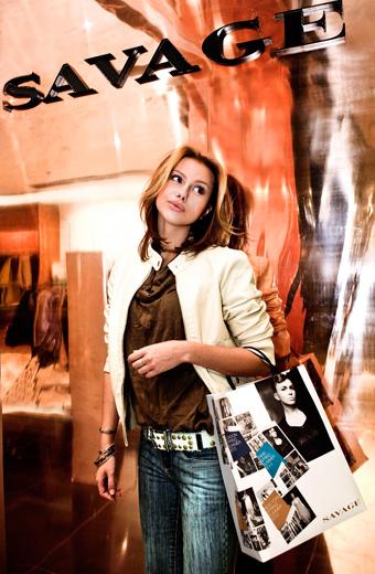 20101221 Savage открытие третьего магазина. Фотография предоставлена компанией.