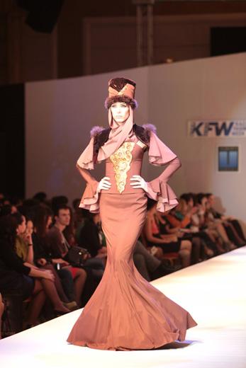 20110431, Kazakhstan Fashion Week, коллекция «Ханшайым» («Принцесса») бренда Jado (Казахстан). Фотография предоставлена организаторами KFW.