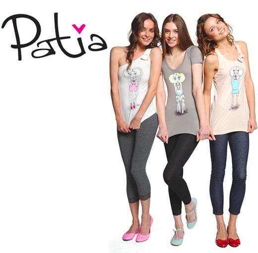 20110630 Компания «Твое» выпустила футболки, сделанные совместно с художницей Patia. Фотографии предоставлены компанией.