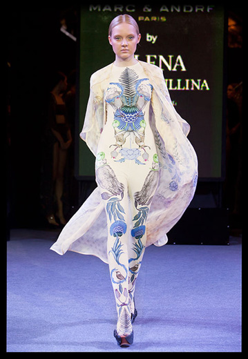 20101101 Показ первой круизной коллекции российского дизайнера Алены Ахмадуллиной, созданной для французского бренда Marc & Andre. Фотография предоставлена пресс-службой модного дома.