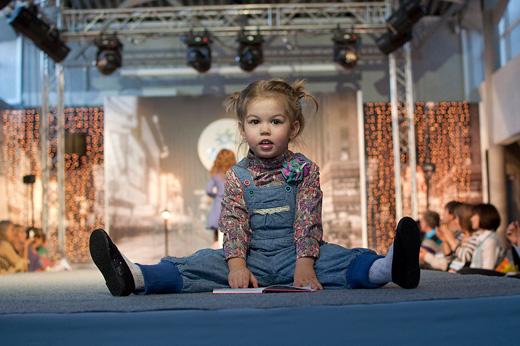 Коллекция детской одежды «Этти-Детти» сезона осень-зима 2011-2012 компания «Мир детства». Фотография предоставлена компанией