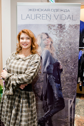 20201125 Открытие салона женской одежды Lauren Vidal в «Атриуме». Фотография предоставлена компанией.