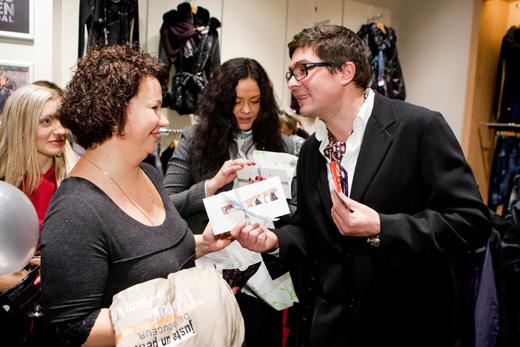 20101209 Официальное открытие салона женской одежды Lauren Vidal в «Атриуме». Фотография предоставлена компанией.