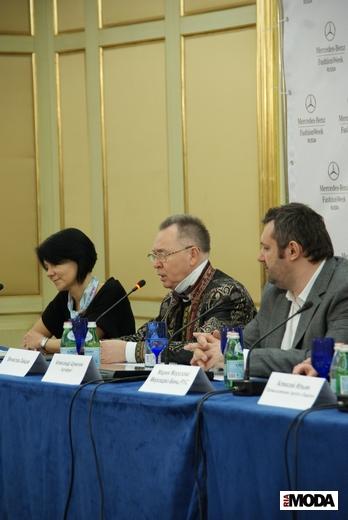 20110323 Пресс-конференция Mercedes-Benz Fashion Week Russia. Фотография Александра Кузнецова, ИА «РИА МОДА».