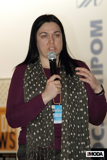 Татьяна Кулахметова, фотография Натальи Лапиной (Бухониной), ИА «РИА Мода».