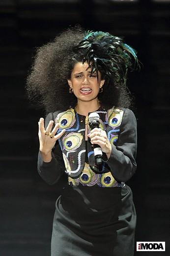 Певица Клиона Маккена. Фотография Натальи Лапиной (Бухониной), ИА «РИА Мода».