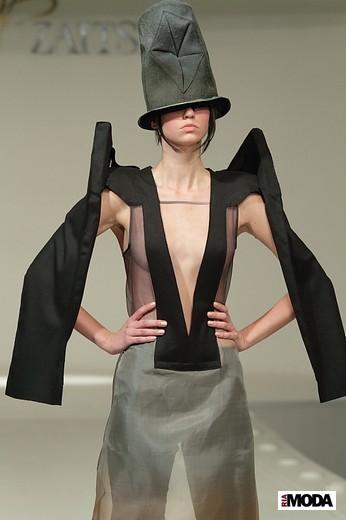 Коллекция Эмилии Хиллен «Переигра». Фотография Натальи Бухониной, ИА «РИА Мода»