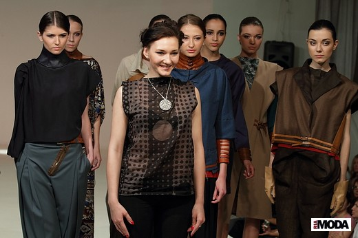 Семенова Дарья «Относительная реальность». Фотография Натальи Бухониной, ИА «РИА Мода»