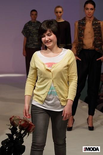 Сарсыбекова Жанна «Параллели». Фотография Натальи Бухониной, ИА «РИА Мода»