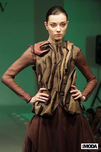 Коллекция Илюхиной Екатерины «Сонная лощина». Фотография Натальи Бухониной, ИА «РИА Мода»