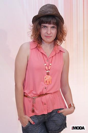 Екатерина Гусева, дизайнер компании F5. Фотография Натальи Бухониной, ИА «РИА Мода»