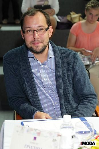Владимир Гридин, редактор отдела моды журнала TimeOut. Фотография Натальи Бухониной,  ИА «РИА Мода»