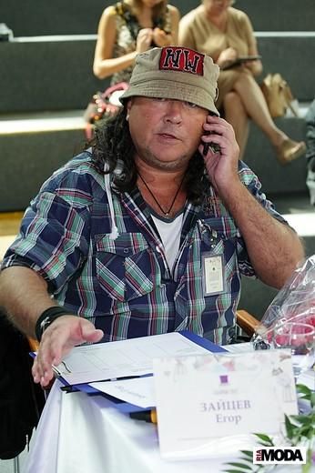 Егор Зайцев, председатель жюри конкурса. Фотография Натальи Бухониной,  ИА «РИА Мода»