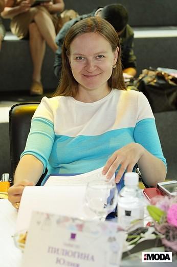 Юлия Пилюгина, глава сети магазинов российских дизайнеров RUSпублика. Фотография Натальи Бухониной,  ИА «РИА Мода»