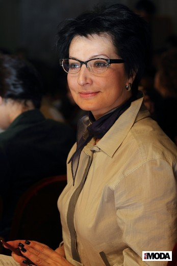 Ирина Ашкинадзе, DnN St. Petersburg Fashion Week. Фотография Натальи Бухониной, ИА «РИА Мода»