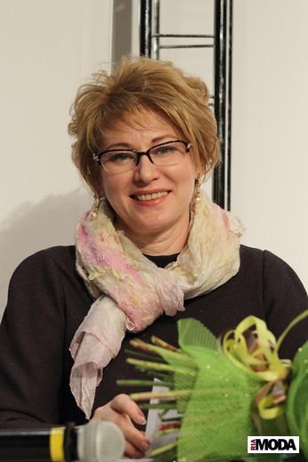 Галина Волкова, компания «Ортомода». Фотография Натальи Бухониной, ИА «РИА Мода»