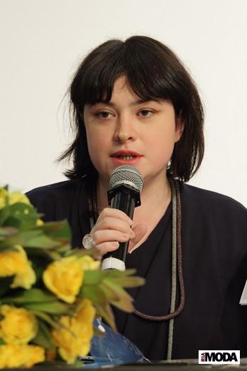 Елена Когель, «Модельеры.ру». Фотография Натальи Бухониной, ИА «РИА Мода»