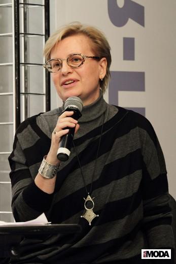 Галина Истомина – преподаватель МИКТиР. Фотография Натальи Бухониной, ИА «РИА Мода»