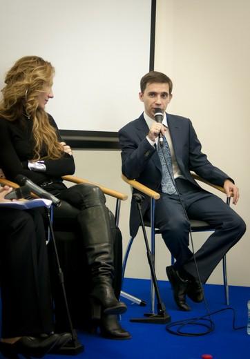 Григорий Печенкин, коммерческий директор компании F5 (справа).Фотография предоставлена Fashion Consulting Group