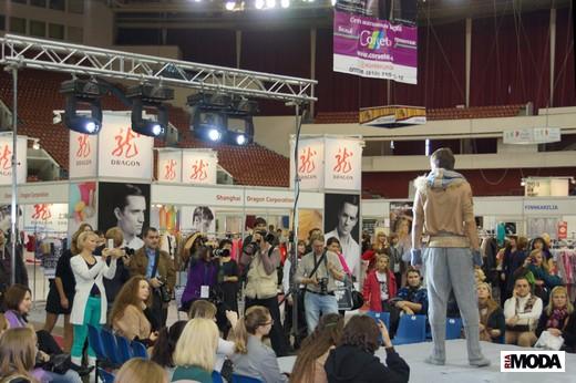 Адмиралтейская игла. Показ на выставке «Индустрия моды». Фотография Валентины Кузнецовой, ИА «РИА Мода»