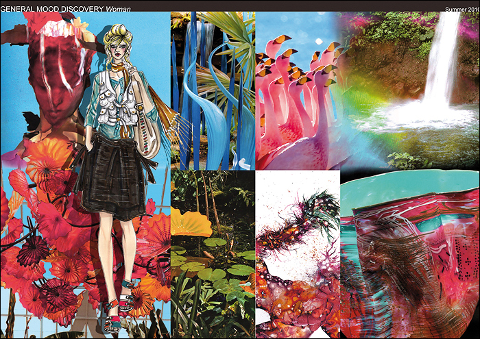 Коллаж к коллекции Finn Flare (сезон весна-лето 2010). Коллаж предоставлен компанией Finn Flare.