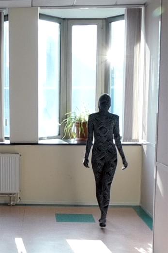 Диджитал-модель Даниила Костышина. Статья проиллюстрирована стоп-кадрами видеосъемки ИА «РИА Мода»