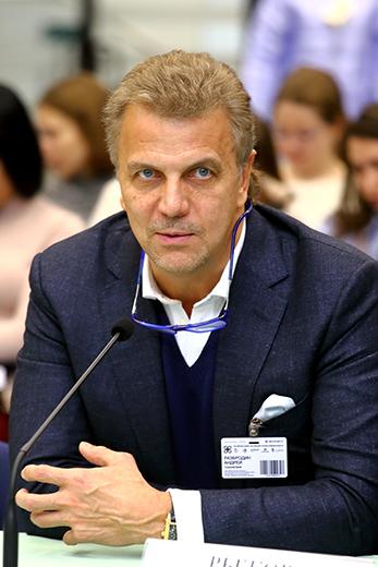 Андрей Разбродин, президент Союзлегпрома. Фотография Натальи Бухониной