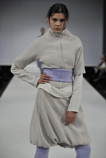 20100610 Graduate Fashion Week. Фотография предоставлена Любовью Рубенян, дипломным руководителем дизайнеров, принимавших участие в мероприятии.