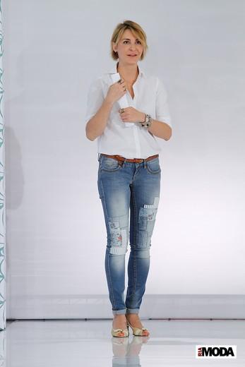 Юлия Мятковская, главный дизайнер ТМ F5. Фотография Натальи Бухониной, ИА «РИА Мода»