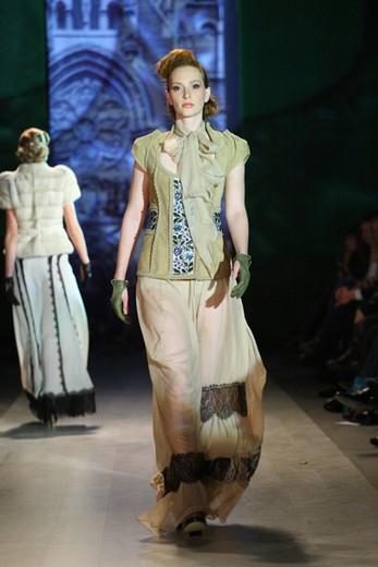 Роксолана Богуцкая, Lviv Fashion Week, коллекция сезона весна/лето 2012. Фотографии предоставлены организаторами недели моды.