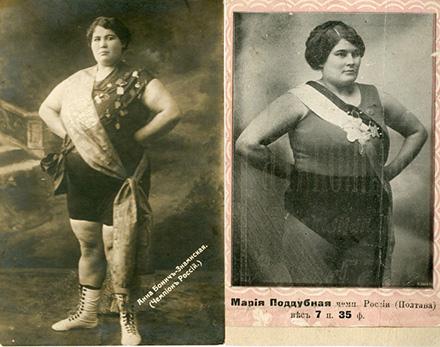 Чемпионки России Анна Бонич-Знаменская (слева) и Мария Поддубная