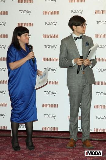 Елена Когель (слева). Фотография Натальи Бухониной, ИА «РИА Мода»