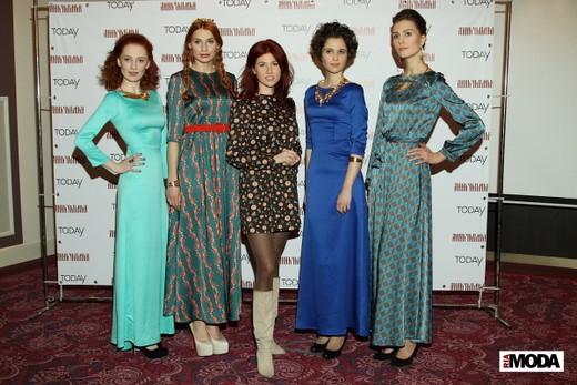 Презентация ТМ Анна Чапман. Фотография Натальи Бухониной, ИА «РИА Мода»