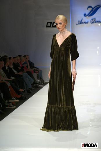 20100406 Russian Fashion Week. Показ коллекции Anna Direchina. Фотография Александра Кузнецова, ИА «РИА МОДА».