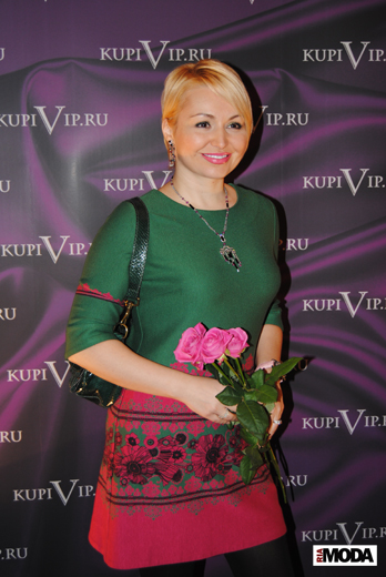 20100214 Презентация проекта KupiVIP - Simple Sales. Катя Лель.Фотография Ивана Бурняшева, ИА «РИА МОДА»