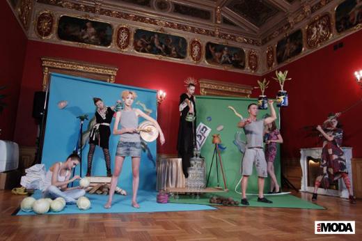 20100519 Aurora Fashion Week. Презентация коллекции Барнарда Вильгельма (Bernhard Willhelm ). Фотография Андрея Ревенко, ИА «РИА МОДА».