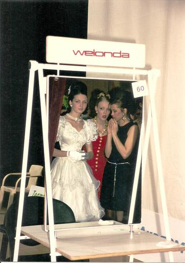 """...модельная школа  """"Стиль """", 1999.  Архив Веры Туговой."""