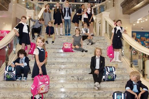 Открытие выставки школьной моды в Детском мире на Волхонке. Фотография предоставлена компанией