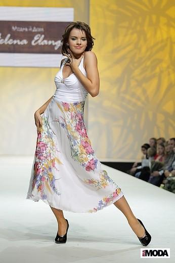 Коллекция весна-лето 2012 «В ритме эмоций» модного дома Helena Elange. Фотографии Натальи Лапиной.