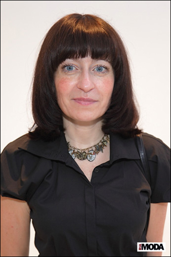 Элина Андросова, аналитик моды.    Фотография Натальи Бухониной, ИА «РИА Мода»