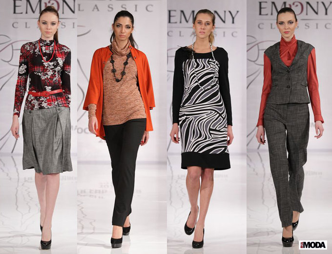 Коллекция марки Emoni сезона осень-зима 2013/2014. Фотография Натальи Бухониной, ИА «РИА Мода»