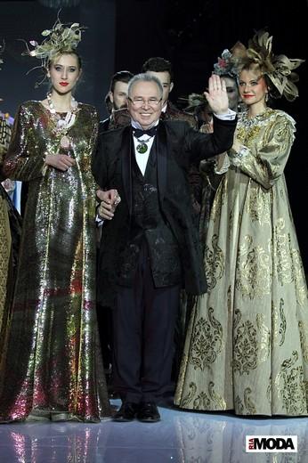 Коллекция Вячеслава Зайцева. Фотография Натальи Бухониной, ИА «РИА Мода»