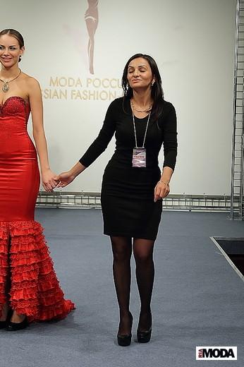 20111006 Конкурс «Экзерсис». Нелли Налбандян, коллекция Vista Nicole. Фотографии Натальи Лапиной, ИА «РИА Мода».