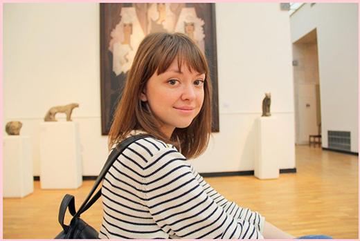 Анастасия Филиппова. Фотография представлена дизайнером
