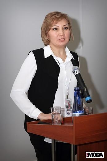 Индира Кадырканова, национальный менеджер программы ITC . Фотография Натальи Бухониной, ИА «РИА Мода»