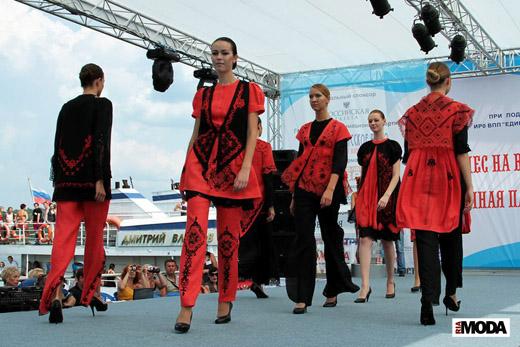 20100710 V Российский фестиваль моды «Плёс на Волге. Льняная палитра». Фотографии Натальи Лапиной, ИА «РИА МОДА».