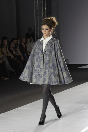 20100406 Russian Fashion Week Показ коллекции Dasha Gauzer (осень-зима 2010/11). Фотография Александра Ломакина.
