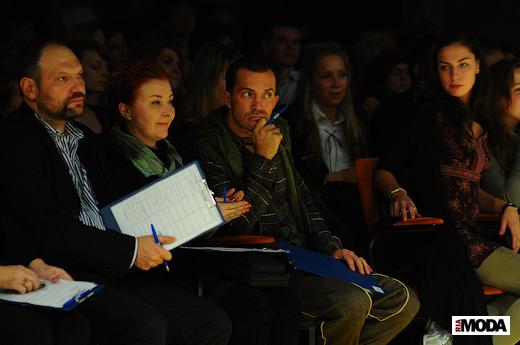 20101102 Полуфинал конкурса «Белье», «Адмиралтейская игла». Фотография Андрея Ревенко, ИА «РИА МОДА».