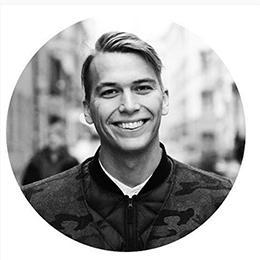 Карл Вальдекранц. Фотография из Instagram организаторов конференция Fashion Futurum