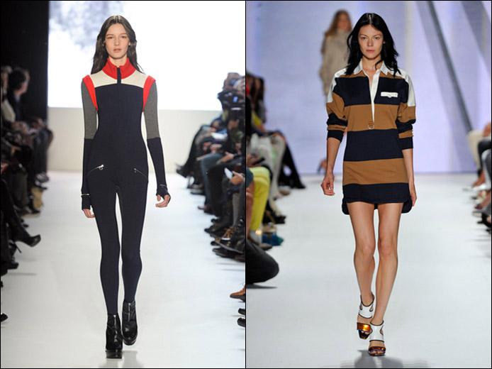 Подиумные look'и  Lacoste сезона весна/лето 2012 и осень/зима 2012-13.  Фотографии предоставлены компанией Lacoste S.A.